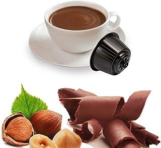 KICKKICK Gianduia Lot de 32 capsules compatibles Nescafé Dolce Gusto – Boisson soluble en dosettes