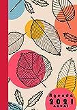 Agenda 2021 anual: Planificador dia por pagina A4 español 365 dias-  12 meses enero a...