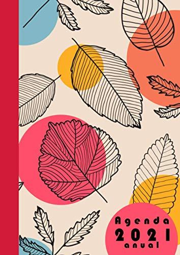 Agenda 2021 anual: Planificador dia por pagina A4 español 365 dias- |12 meses enero a diciembre 2021 | XXL Planificadora diaria y mensual , Organizador Calendario 2021