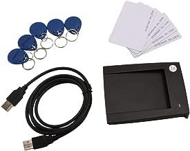 USB 125KHZ EM4100 RFID Proximity Reader+5Cards+5Keytags