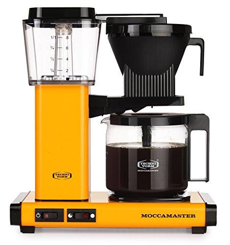 Moccamaster Filter Kaffeemaschine KBG 741 AO, 1.25 Liter, 1520 W, Yellow Pepper
