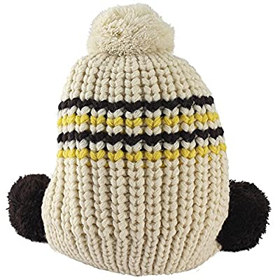 Fashion Winter Hat Baby Girls Boys Cute Warm Two Balls Wool Knitted Caps Toddlers Children Hat Beanie Cap