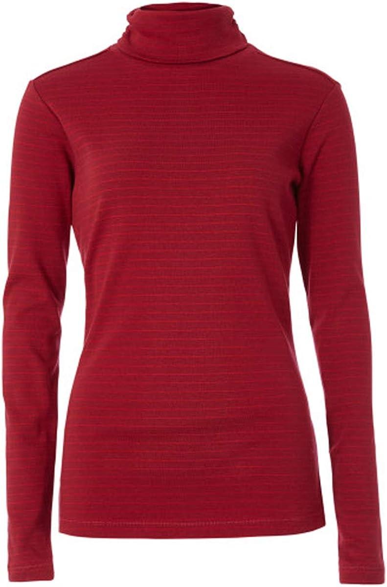 Royal Robbins Womens Kickback Turtleneck Athletic T Shirt