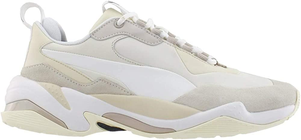 PUMA Price reduction Mens Thunder Nature Lace Nippon regular agency Up Shoes Whi Sneakers Off - Casual