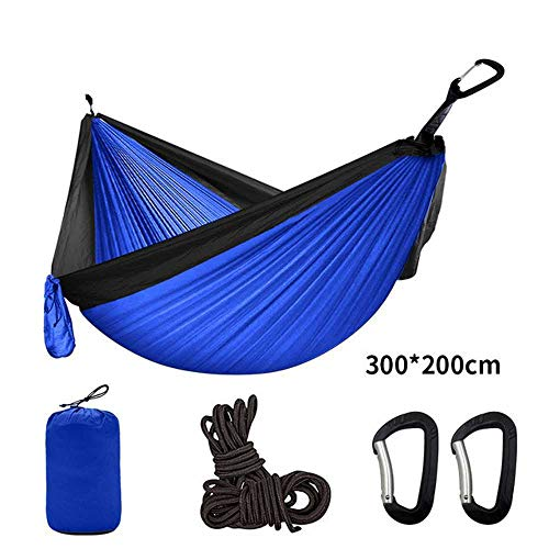 NOBRAND Multi Color 2 People Portable Parachute Hammock Camping Survival Garden Flyknit Hunting Leisure Hamac Travel Double Person Hamak