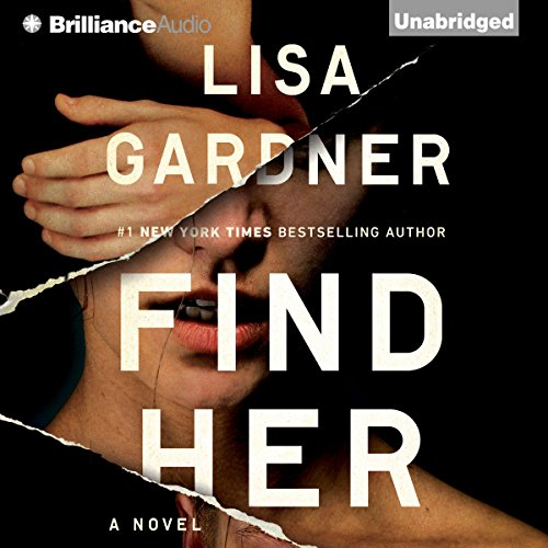 Find Her                   Written by:                                                                                                                                 Lisa Gardner                               Narrated by:                                                                                                                                 Kirsten Potter                      Length: 12 hrs and 16 mins     18 ratings     Overall 4.7