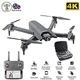 Drone avec Caméra 4K HD FPV WiFi Quadricoptère Pliable, Altitude Hold Headless Mode One Key Retour Amusant Jouet Cadeaux