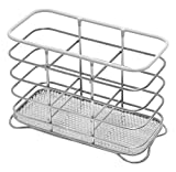 Addis Wire Cutlery Holder, Chrome White