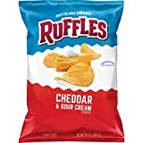 Ruffles Cheddar & Sour Cream Flavored Potato Chips, 8.5 Ounce