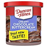 Duncan Hines Creamy Chocolate Buttercream Frosting, 8 - 16 OZ Cans