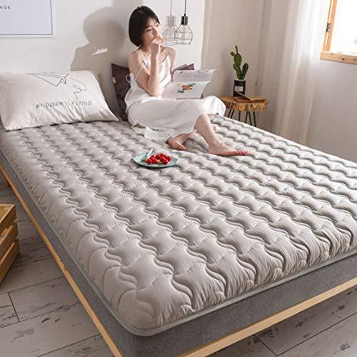 Alfombra de Tatami Japonesa,Plegable Colchón Suelo, Grueso Acolchado Suave Antiescaras Colchón futon Dormir Mat para Dormitorio Alcoba,A,1.35 * 2.0m