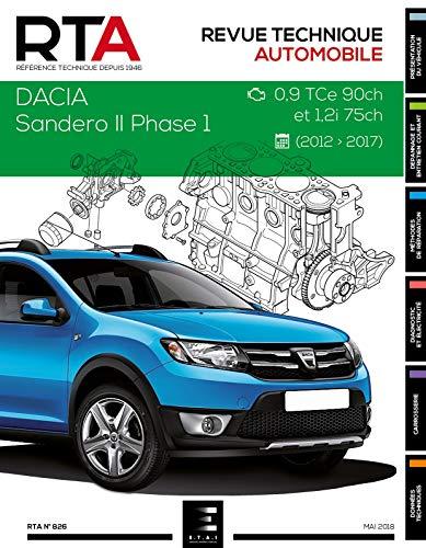 E.T.A.I - Revue Technique Automobile 826 DACIA SANDERO II PHASE 1 - 2012 à 2016