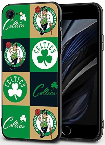 iPhone SE 2020 Case,iPhone 8 Case,iPhone 7 Case,Basketball Theme Design Ultrathin Cover Cases for iPhone 7/8/SE2020 4.7' (Celtic-s-Symbol)