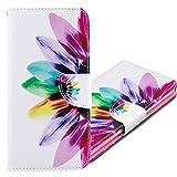 MRSTER Funda Honor 9X Lite, PU Cuero Flip Folio Carcasa [Kickstand] [Ranura para Tarjeta] [Cierre magnético] para Huawei Honor 9X Lite. BF Sunflower