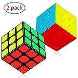 Aiduy 3x3x3 Zauberwürfel schnell Drehwürfel, Rätsel-Würfel/ Speed Cube/ Magic-Cube, Geschenk...