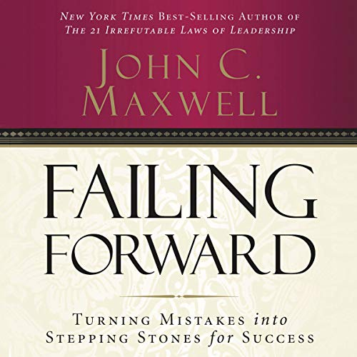 Failing Forward audiobook cover art