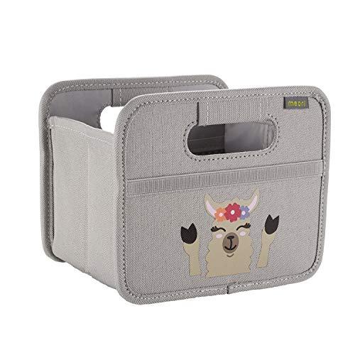 meori Foldable Box Mini Grey llama print Storage Kids Gift Desk Organizer Crafting