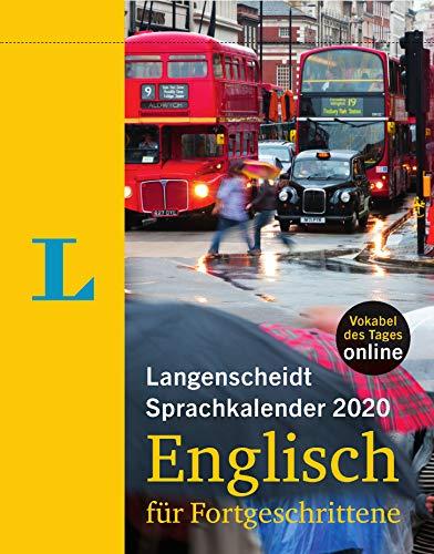Langenscheidt Sprachkalender 2020 Englisch für Fortgeschrittene: Abreißkalender