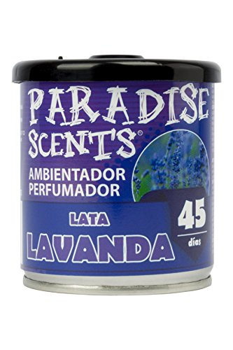 PARADISE SCENTS PER80132 tin parfum gel 100 gr, donkerpaars