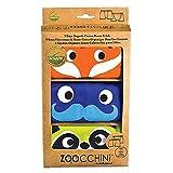 Zoocchini Set de 3boxers para niño naranja 5–6años