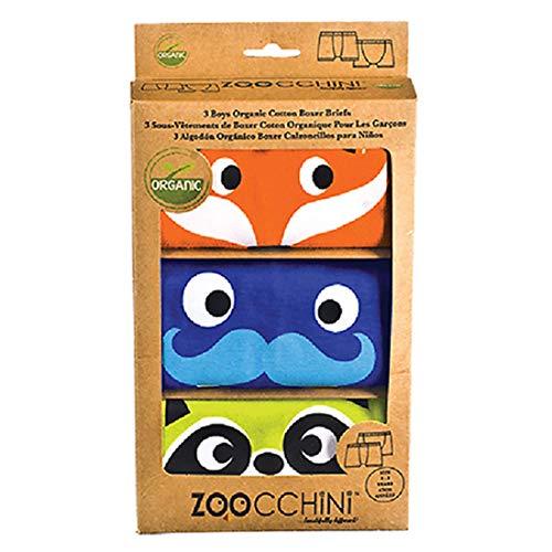 Zoocchini Set 3Boxershorts für Jungen orange 5–6Jahre