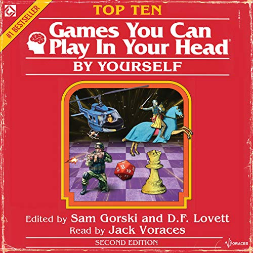 Page de couverture de Top 10 Games You Can Play in Your Head, by Yourself