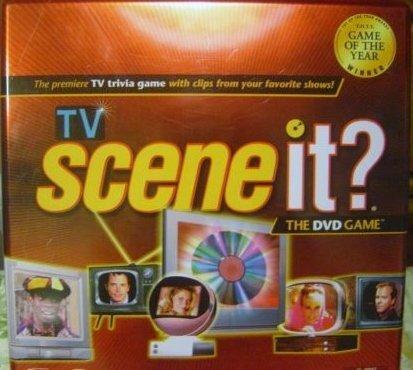 Tv Scene It? DVD Game Original in Tin 2005 by Scene It?
