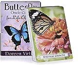 YQRX Butterfly Oracle Tarjetas, Juego Completo de Mesa de...