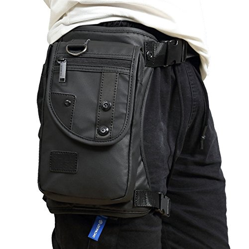 Oxford Drop Leg Bag Senderismo Paquete de cintura Bolsa de pierna caída para hombres Mujeres Motocicleta…
