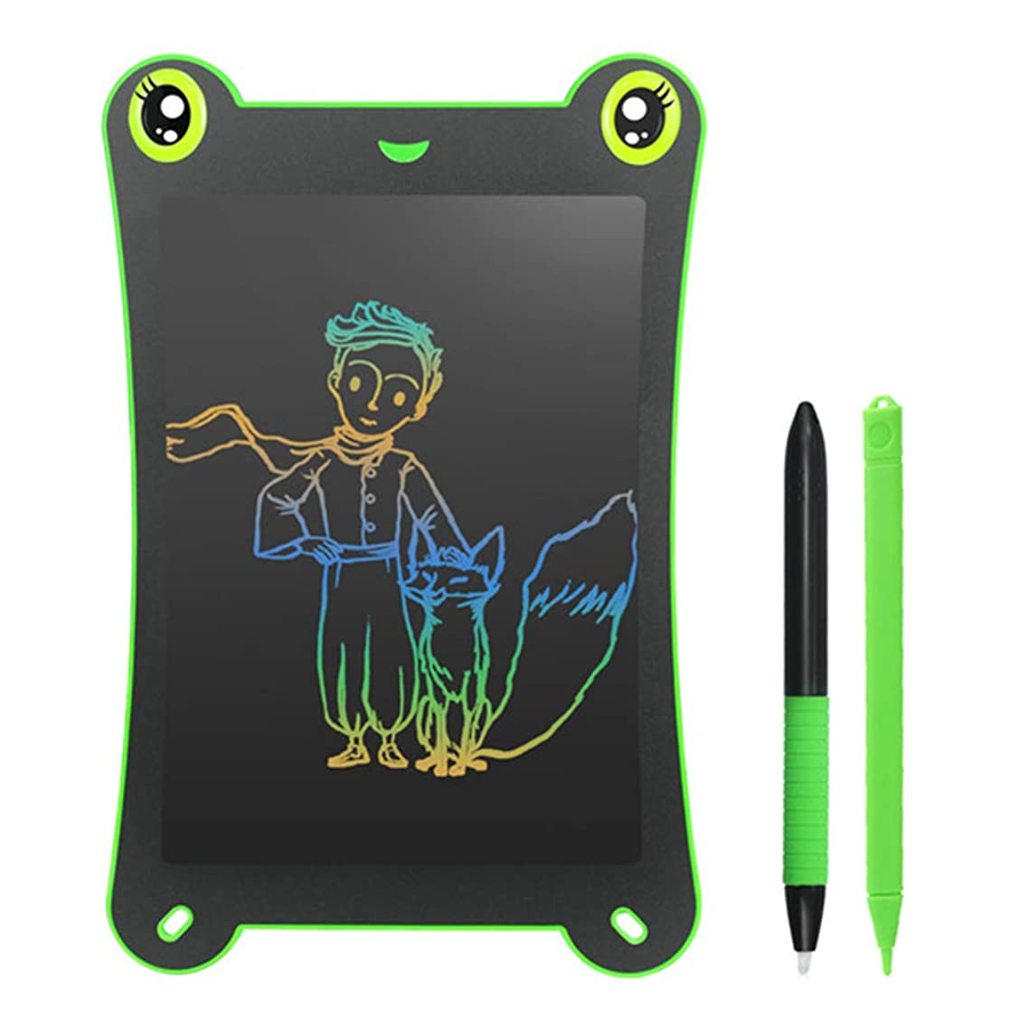 インフラ恥ずかしさ羊飼い8.5インチのカラー画面LCDの書き込みLCD手書きボード、滞在する単語ボードパズル落書き早期教育電子筆記ボード