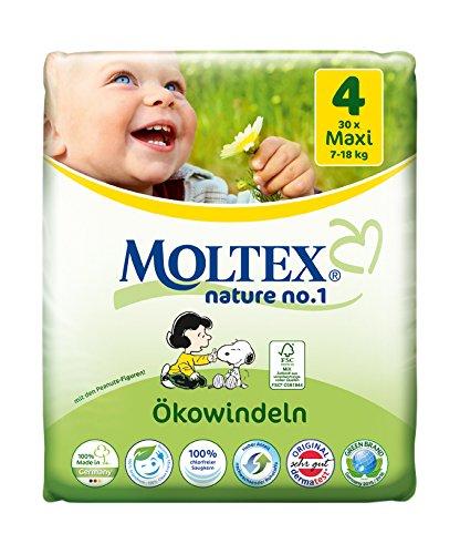 Moltex Nature No. 1 Ökowindeln Größe 4