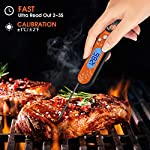 Marsno Digital Meat Thermometer, Instant Read Thermometer –Best Waterproof Ultra Fast Read Thermometer with Backlight… 3