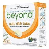 Beyond Natural Dishwasher Tablets - Fragrance & Dye Free - ZERO...