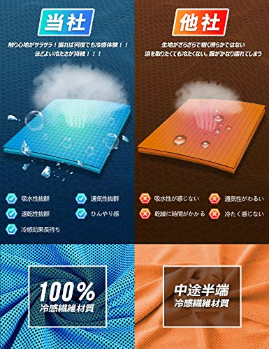 Xingmeng3枚セット冷却タオルUVカットアウトドア