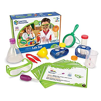 Learning Resources Primary Science Lab Activity Set, Science Exploration, 22 Pieces
