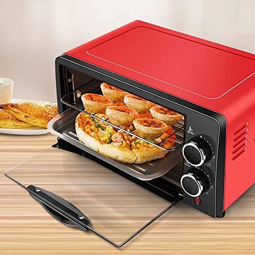 MIAOLEIE Haushalt Elektro-Ofen 12L Kleine Kuchen-Backen Machen Ofen Multifunktionale Desktop-Pizza Brotbackautomaten Toaster,220V European Standard
