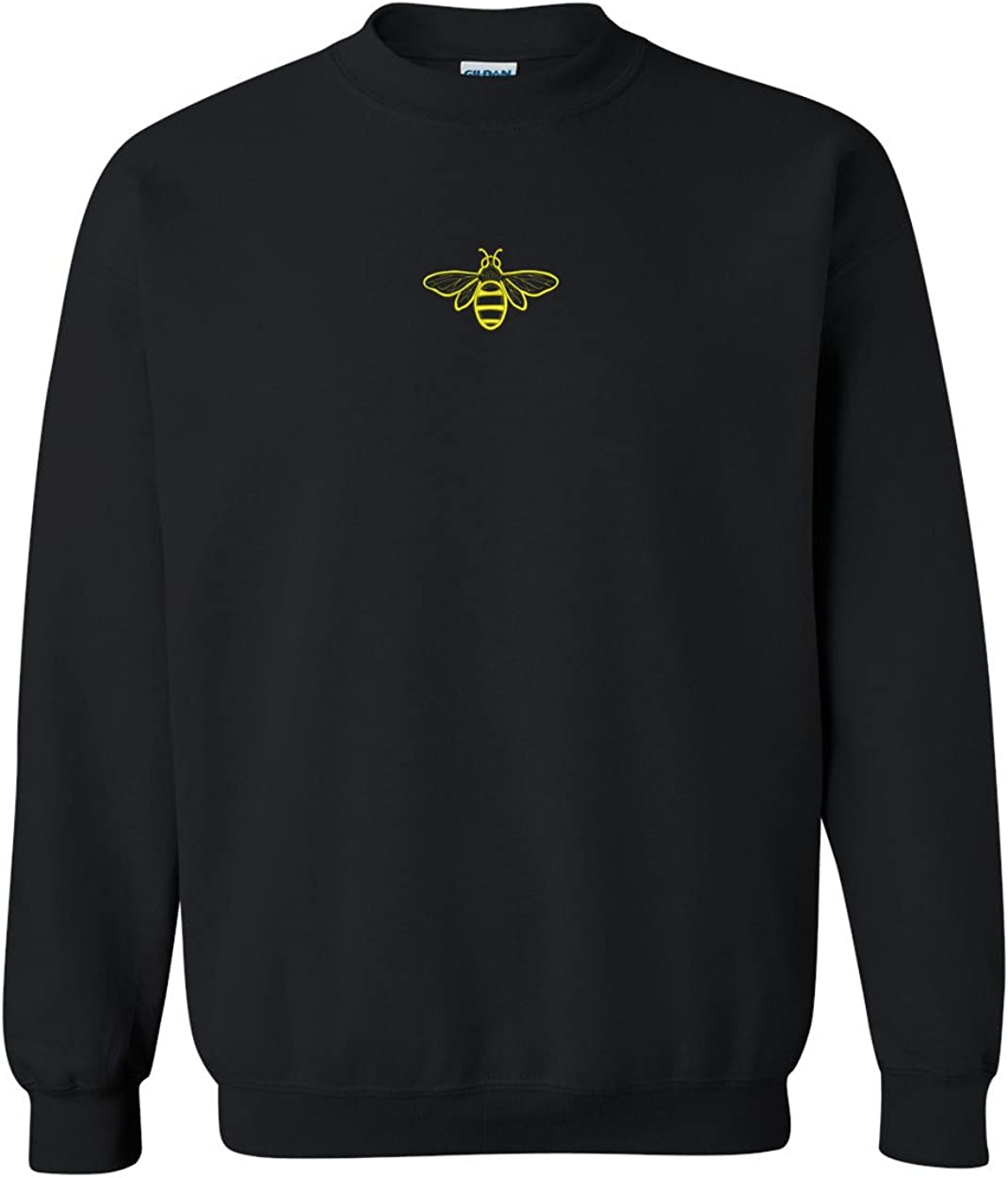 Trendy Apparel Shop Bee Embroidered Crewneck Sweatshirt