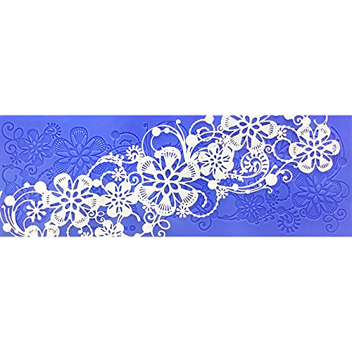 Will-O-The -Wisp Lace Mat by Crystal Candy