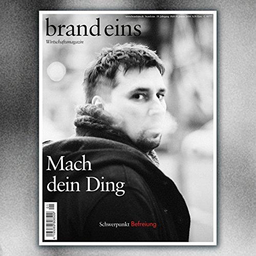 brand eins audio: Befreiung audiobook cover art