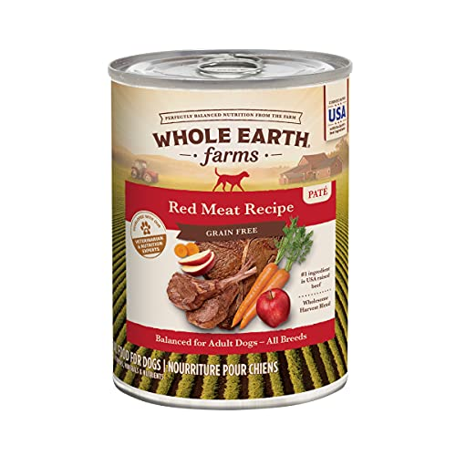 Whole Earth Farms Grain Free Red Meat Recipe Canned Dog Food - (12) 12.7 oz. Cans