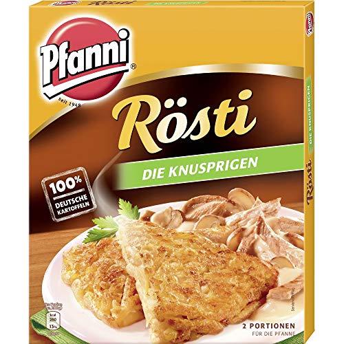 """Pfanni Kartoffelfertiggericht Rösti """"Die Knusprigen"""" aus nachhaltigem Anbau 400 g"""