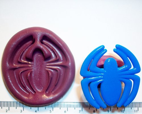 Silicone Mould Spiderman Web Icing Cake Cupcake Decoration by Cupcake Moulds