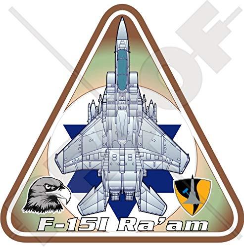 Mcdonnell Douglas-Boeing F-15I Strike Eagle Ra'am Israël Luchtmacht F-15 IAF Vliegtuig Israëlische Vinyl Sticker, Decal