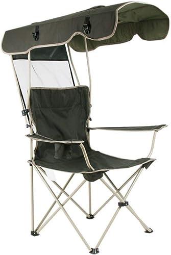LIUJIE Chaise de Camping, Chaise de Jardin Pliante avec Chaise d'extérieur pour Tente et Porte-gobelets, Chaise de Plage pour la pêche pour Les Voyages la mer Les Loisirs