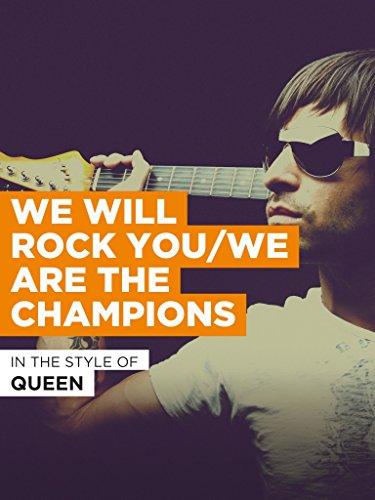 We Will Rock You/We Are The Champions im Stil von