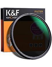 K&F Concept - Filtro Densidad Neutra Variable ND2-ND32 52mm con MRC 18 Capas Filtro ND Fotogáfico para Objetivo ND 52mm (5 Pasos)