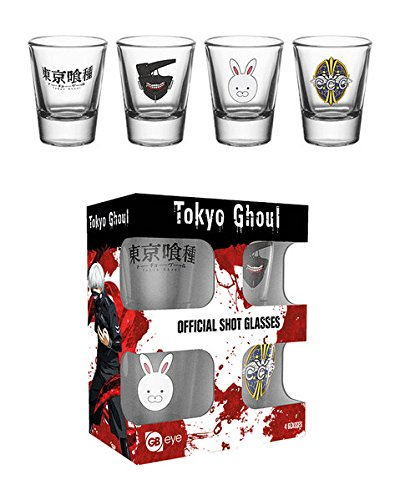 GB Eye Ltd, Tokyo Ghoul, Mix, 20 ML Verre à Shot