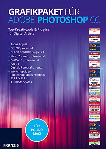 Franzis Grafikpaket für Adobe Photoshop CC