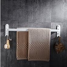 MBYW moderne hoge dragende handdoek rek badkamer handdoekenrek Opslag plank Badkamer plank_Noordse ruimte aluminium witte ...