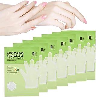 Handschilmasker, 7 stuks Avocado Huidvriendelijk Hydraterend Voedend handmasker Anti-droge handverzorging Voor droge hande...